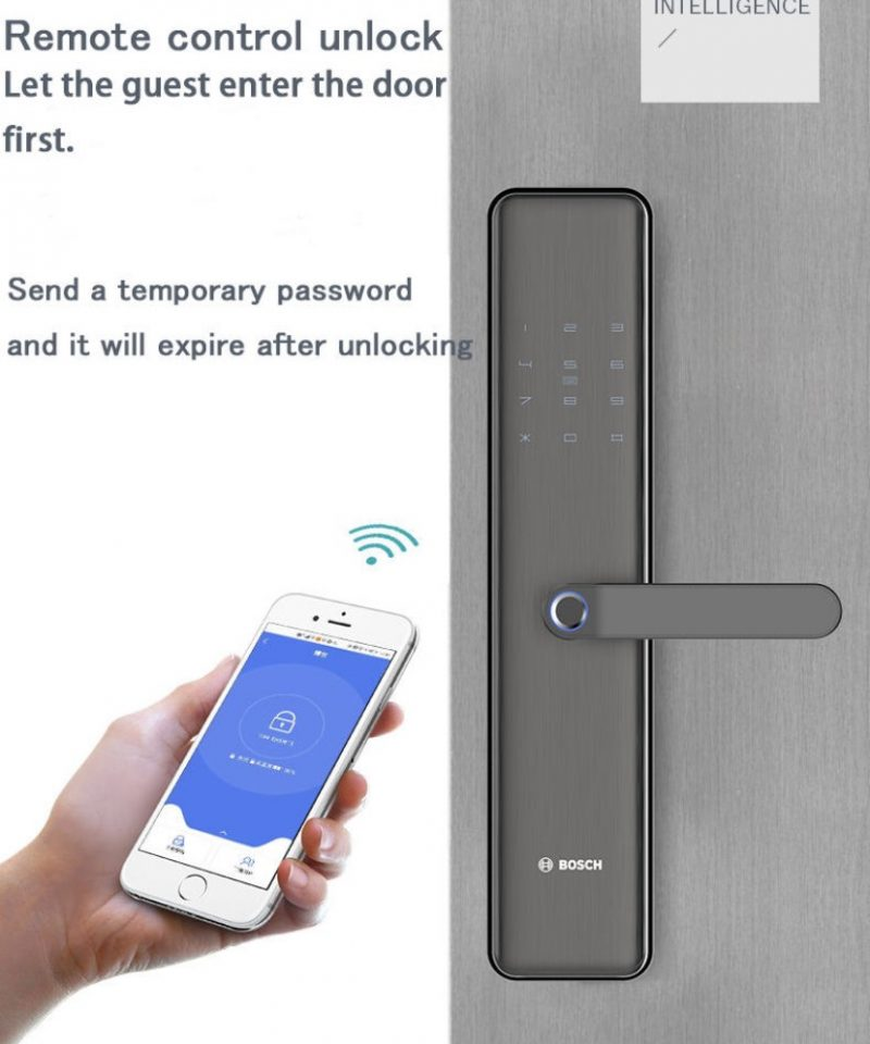 Khoa Bosch ID450 su dung app