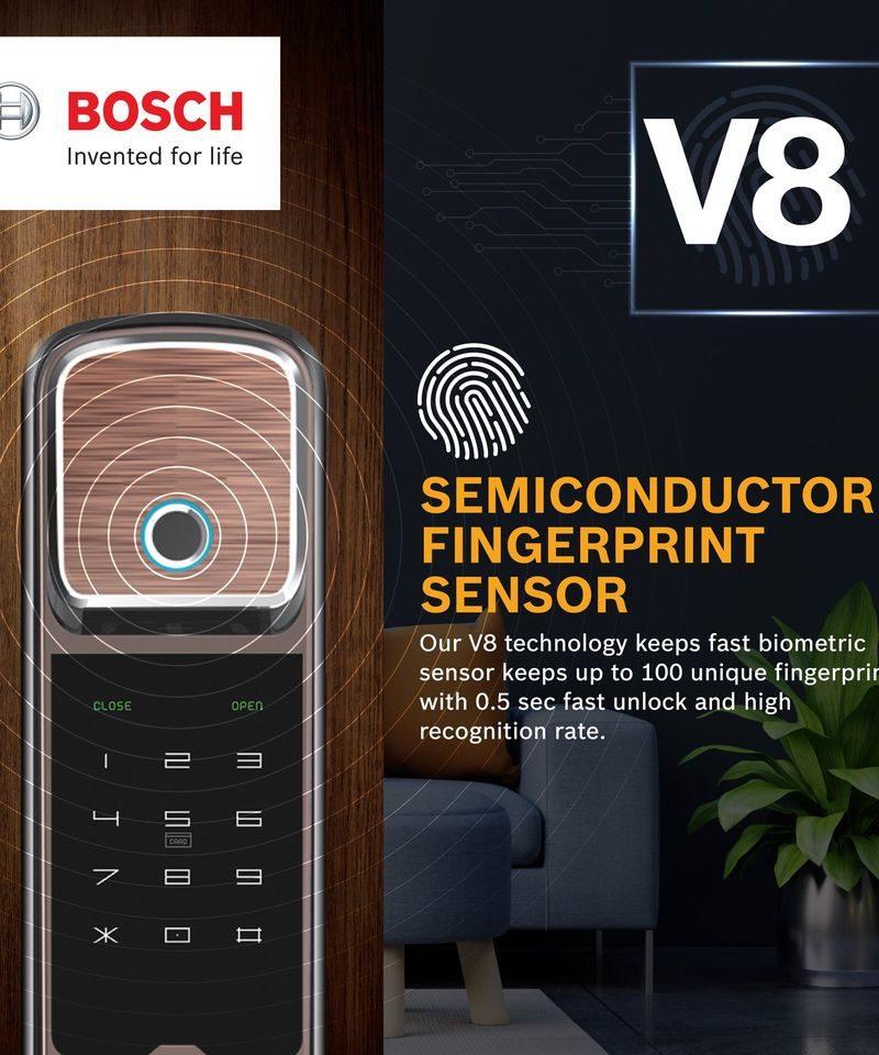 Khoa cua dien tu Bosch fu550