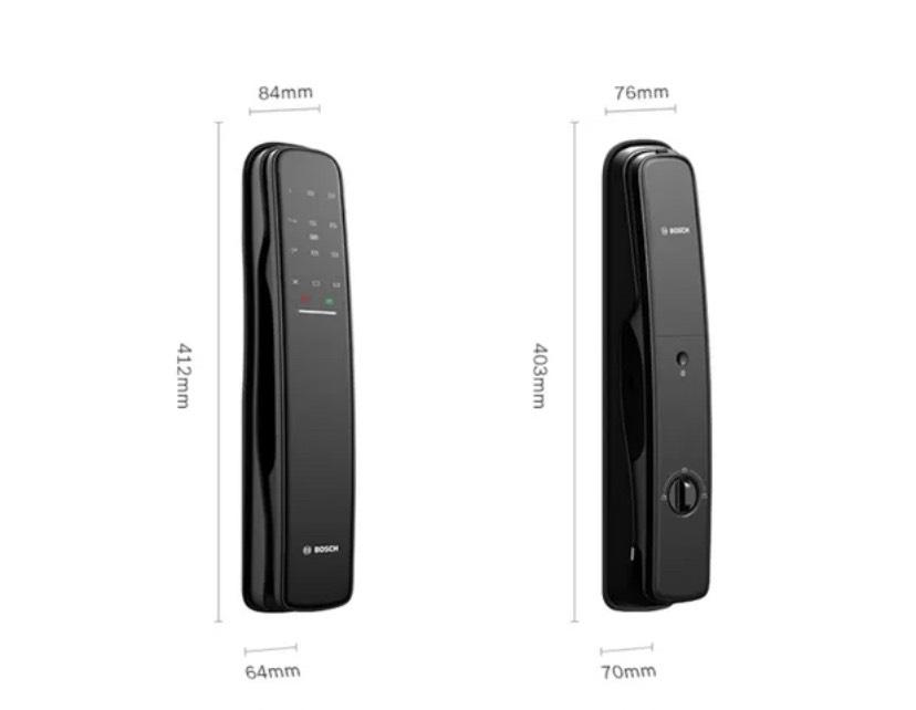 Khoa van tay Bosch EL800