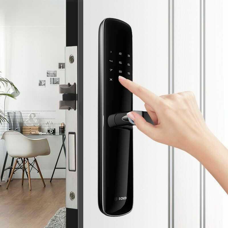 Lắp đặt khóa điện tử Bosch